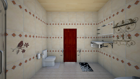 The Vintage Bathroom - Vintage - Bathroom  - by GABRIELLE HEMME