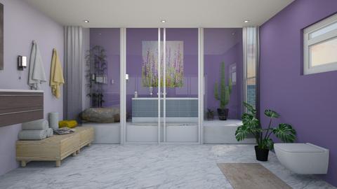 lavender bathroom - by RyanDS123