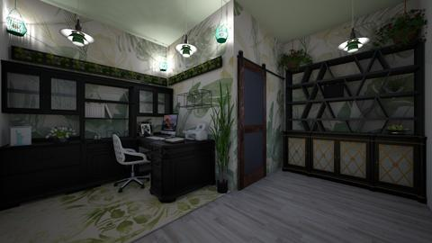urban jungle office  - Office - by Kylie Awa