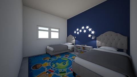 Boys bedroom 3 - Kids room  - by night_comet