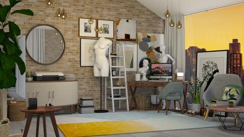 Modern Studio - Modern - Office  - by Kendal Peterson