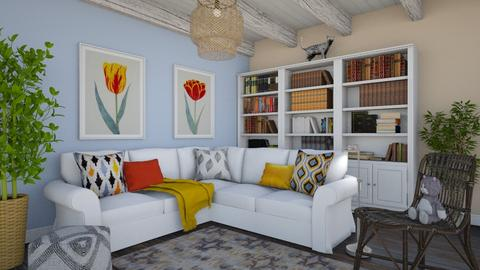 Farmhouse living - Living room  - by Laurika
