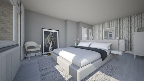 Bedroom redesign - Modern - Bedroom - by Valentinapenta