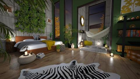 Urban Boho Jungle - by KCAD