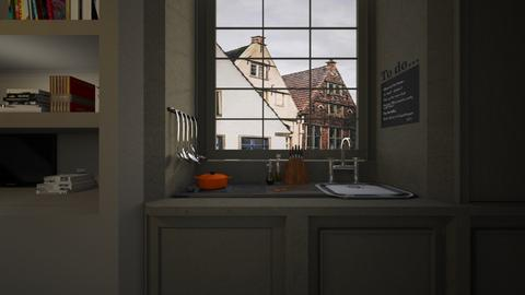 Casa265Kitchen - Eclectic - Kitchen  - by nickynunes