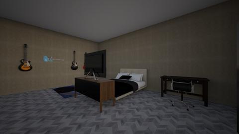 guitar by piran dillon - Bedroom  - by pirandillon