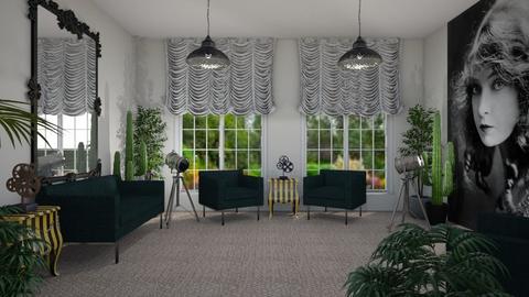 Room 25 - Living room - by Tiffany Y