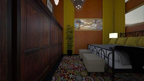 GU SUITE 1 - Eclectic - Bedroom  - by decordiva1