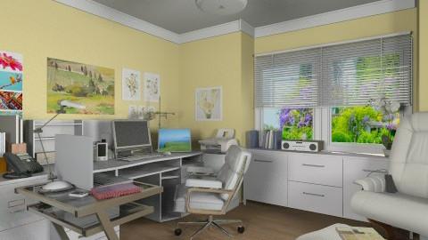 Office for Martha - Modern - Office  - by Bibiche