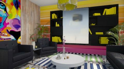 Color - Living room - by Habib Altamimi