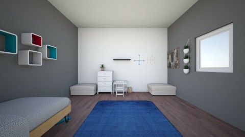 Bright World - Minimal - Kids room  - by AloneSpirit