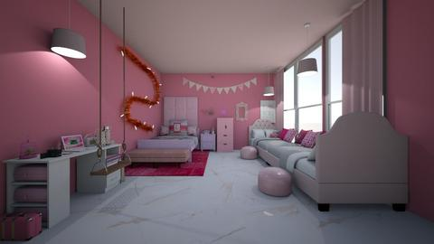 Ashley Bedroom  - Feminine - Bedroom  - by Ravina_9069