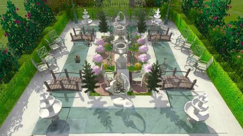garden - Classic - Garden  - by wifethefalcon thefalcon