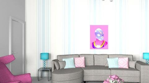 Veronika - Glamour - Living room  - by nikuska