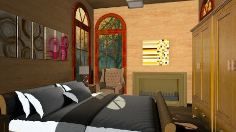 SMALL BEDROOM - Classic - Bedroom  - by iglitola