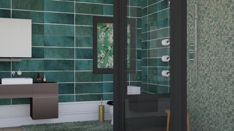 Sakura - Bathroom  - by Norbosa