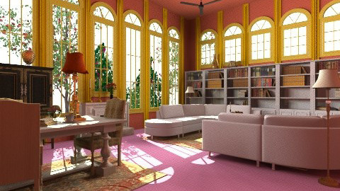 Library - Vintage - Kids room  - by Romanshotel