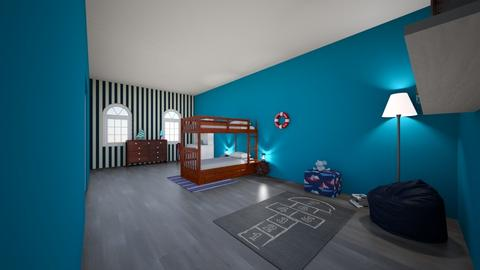 nautical room - Kids room  - by reaghanursell