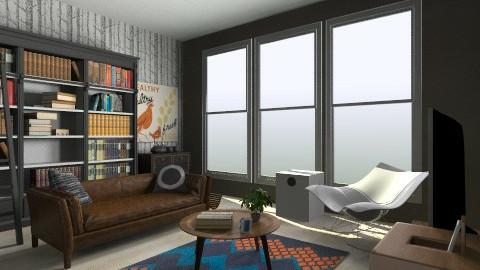 Living Room - Retro - Living room  - by Agnes Lai