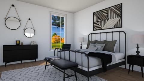 bedroom3 - Eclectic - Bedroom - by nuray kalkan