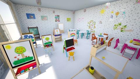 children bedroom  - Garden  - by Evgeniya Levchenko
