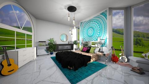 springtime - Bedroom  - by snowbear365