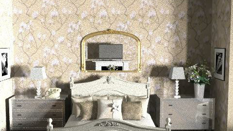 Hotel Room Project - Country - Bedroom  - by laurawoodley