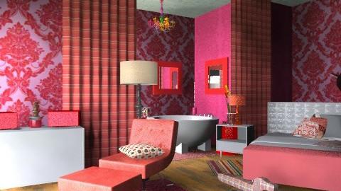 ing - Rustic - Bedroom  - by lisyy