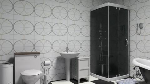 Bathroom / Black&White - Glamour - Bathroom  - by lisanimmox