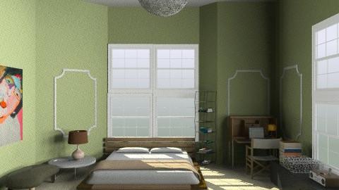 bedroom lft - Retro - Bedroom  - by whateffer
