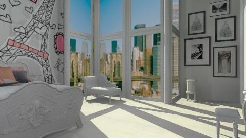 Bedroom Girl 1 - Eclectic - Office  - by ajkaredzepagic