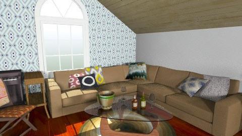 Fun attic - Rustic - by Marxipan