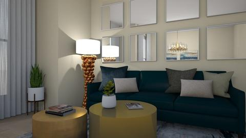 Turquoise Living - Living room - by KP Design PH