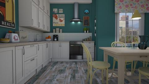 MP - Kitchen - by Tuija