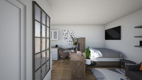 STUDIO ENTRY - Bedroom - by Tiny_Bubbles