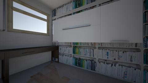Ds office bookshelf paper - Office  - by ddogPNW