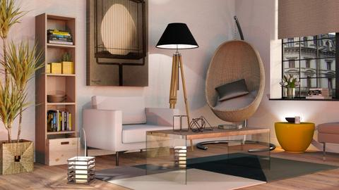 Egg in Living Room - Modern - Living room  - by Sally Simpson