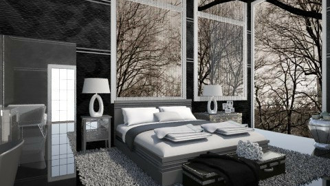 PP - Modern - Bedroom  - by milyca8
