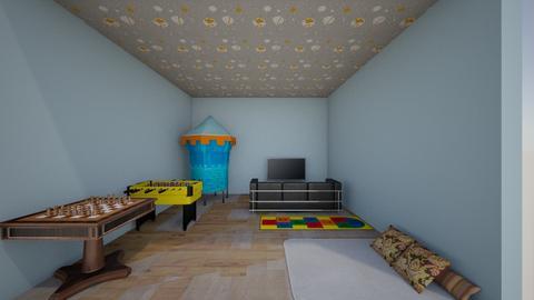Quarto de Jogos - Kids room  - by Sophia Coelho
