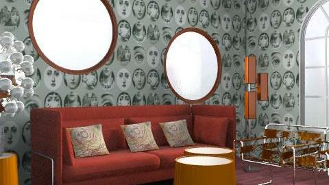 ret - Retro - Living room - by ory_ana