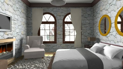 bedroom from the mountain - Classic - by ju1974
