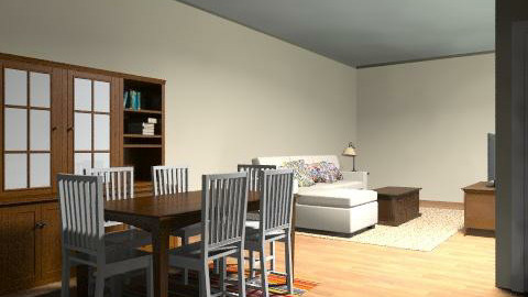 multipurpose basement  - Country - by roomy777