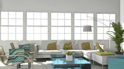living room - Minimal - Living room - by nmansoori