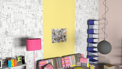 Home office 1 - Eclectic - Office  - by morocsilla