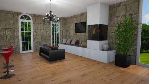 modern snug - Modern - Living room  - by rhod365