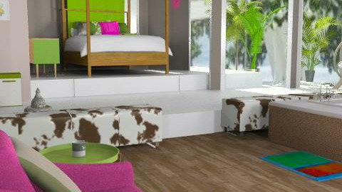 Palm Springs - Eclectic - Bedroom  - by Interiors by Elaine