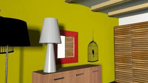 aq1 - Retro - Bedroom  - by Sofia Flores