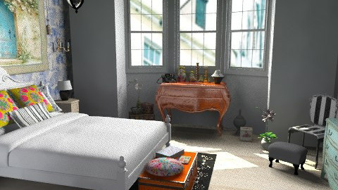 Chandler - Eclectic - Bedroom  - by allysonrose