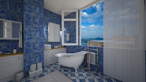 island bath - by Evie_interior