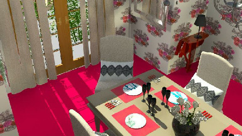 Blowsy  - Dining Room  - by DearDesigner